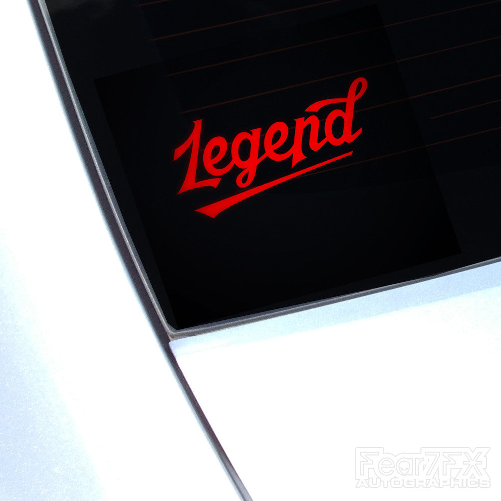 Legend JDM Euro Decal Sticker V2