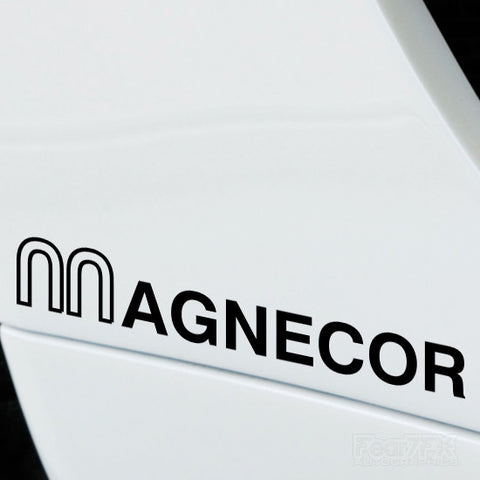 2x Magnecor Performance Tuning Vinyl Decal