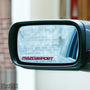 2x MazdaSport Wing Mirror Vinyl Transfer Decals