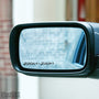 2x Zoom Zoom Wing Mirror Vinyl Transfer Decals