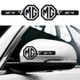 2x MGZR Custom Wing Mirror Vinyl Decals