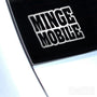 Minge Mobile Funny JDM Car Vinyl Decal Sticker