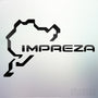 1x Impreza Nurburgring Vinyl Transfer Decal