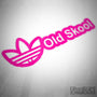 Old Skool Adidas JDM Camper Decal Sticker