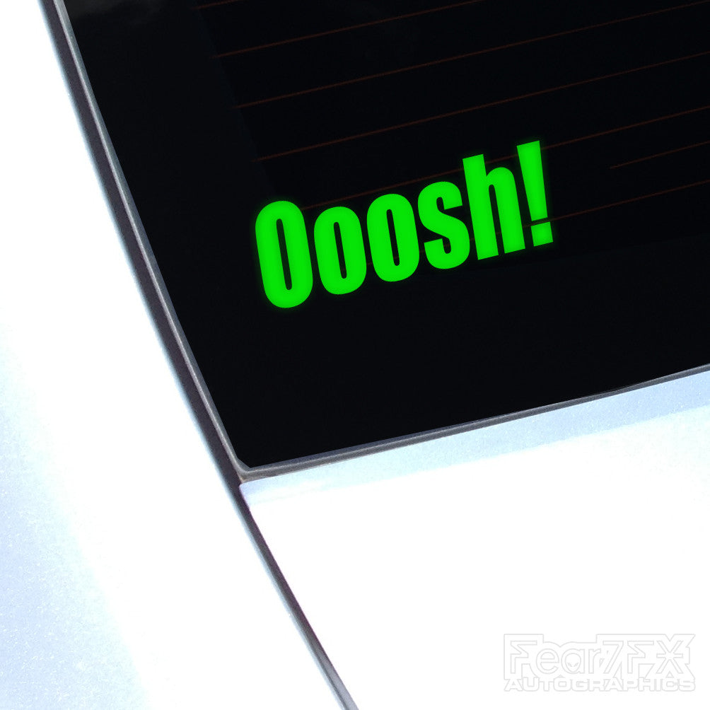 Ooosh! Bang Tidy JDM Euro Decal Sticker V1