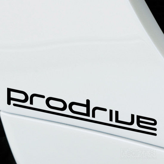 2x Prodrive Performance Tuning Vinyl Decal