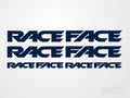 4x RaceFace Bike Vinyl Transfer Decals