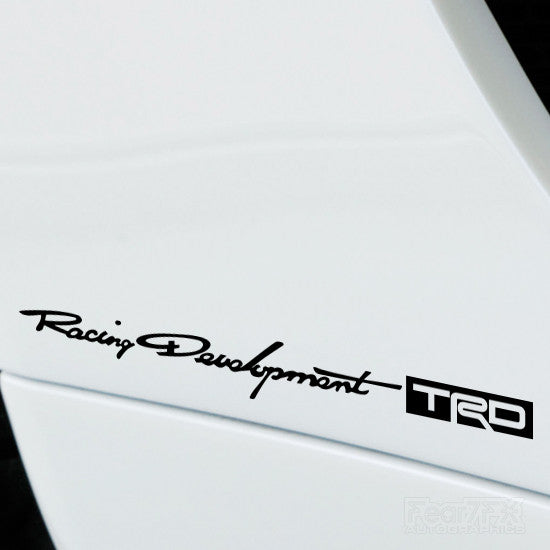 2x Racing Development TRD Performance Vinyl Decal