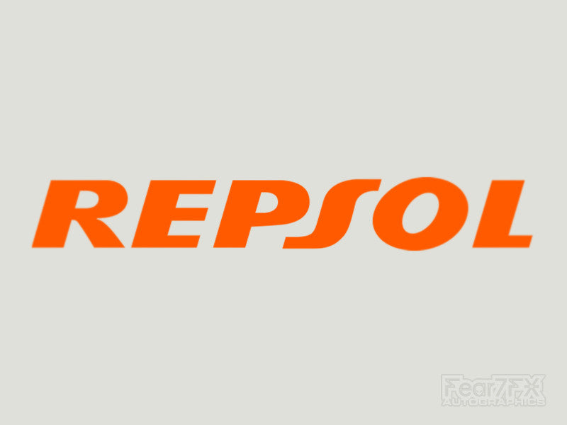 2x Repsol Vinyl Transfer Decal