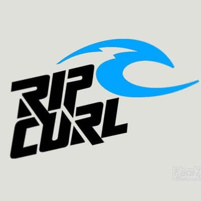 2x Rip Curl V1 Vinyl Transfer Decal
