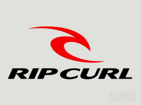 2x Rip Curl V2 Vinyl Transfer Decal