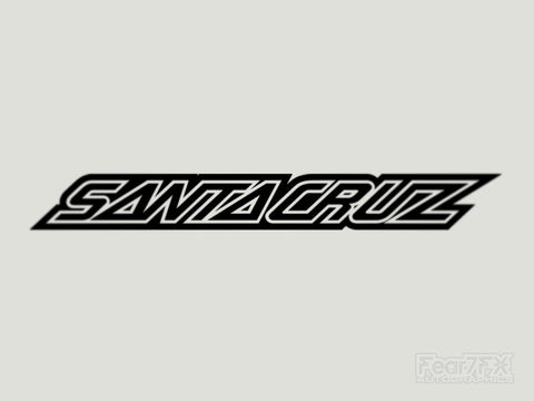 2x Santa Cruz V3 Vinyl Transfer Decal