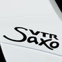 2x Saxo VTR Performance Tuning Vinyl Decal