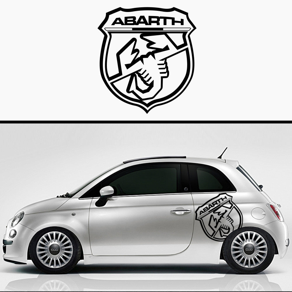 1x Fiat Abarth Custom Graphic Badge