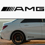 2x AMG Side Skirt Vinyl Decal