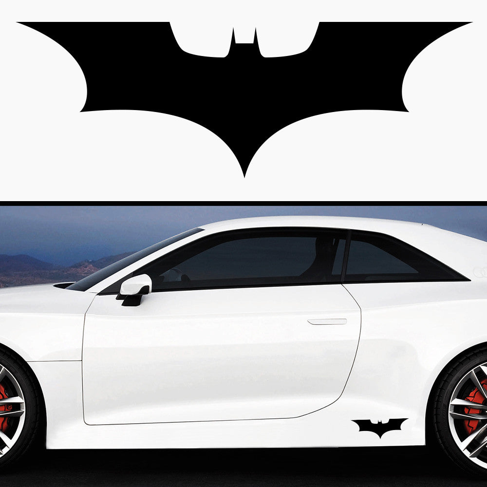2x Batman Side Skirt Vinyl Decal