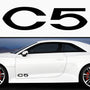 2x Citroen C5 Side Skirt Vinyl Decal
