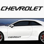 2x Chevrolet Side Skirt Vinyl Decal