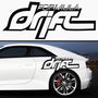 2x Formula Drift Rare Side Skirt Vinyl Decal
