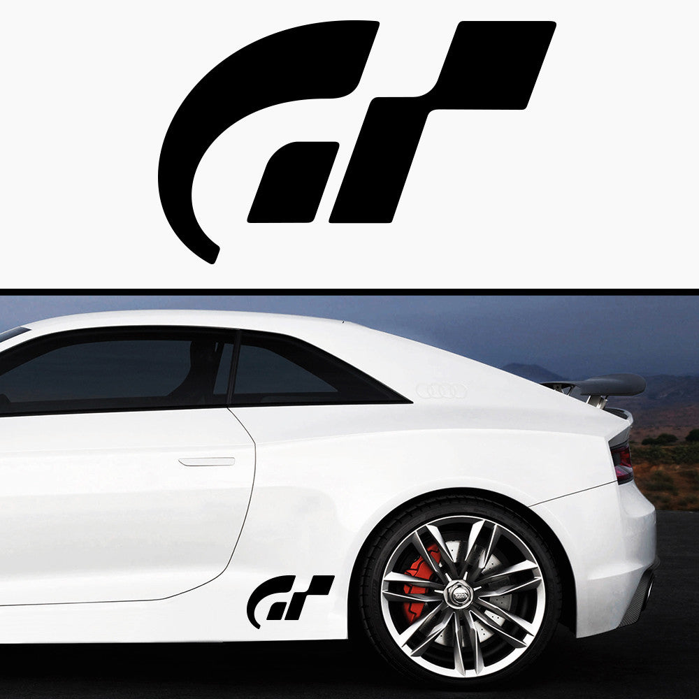 2x Gran Turismo Side Skirt Vinyl Decal