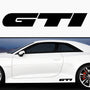 2x GTI Side Skirt Vinyl Decal