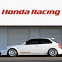 2x Hyundai Side Skirt Vinyl Decal