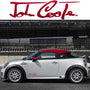 2x John Cooper Side Skirt Vinyl Decal
