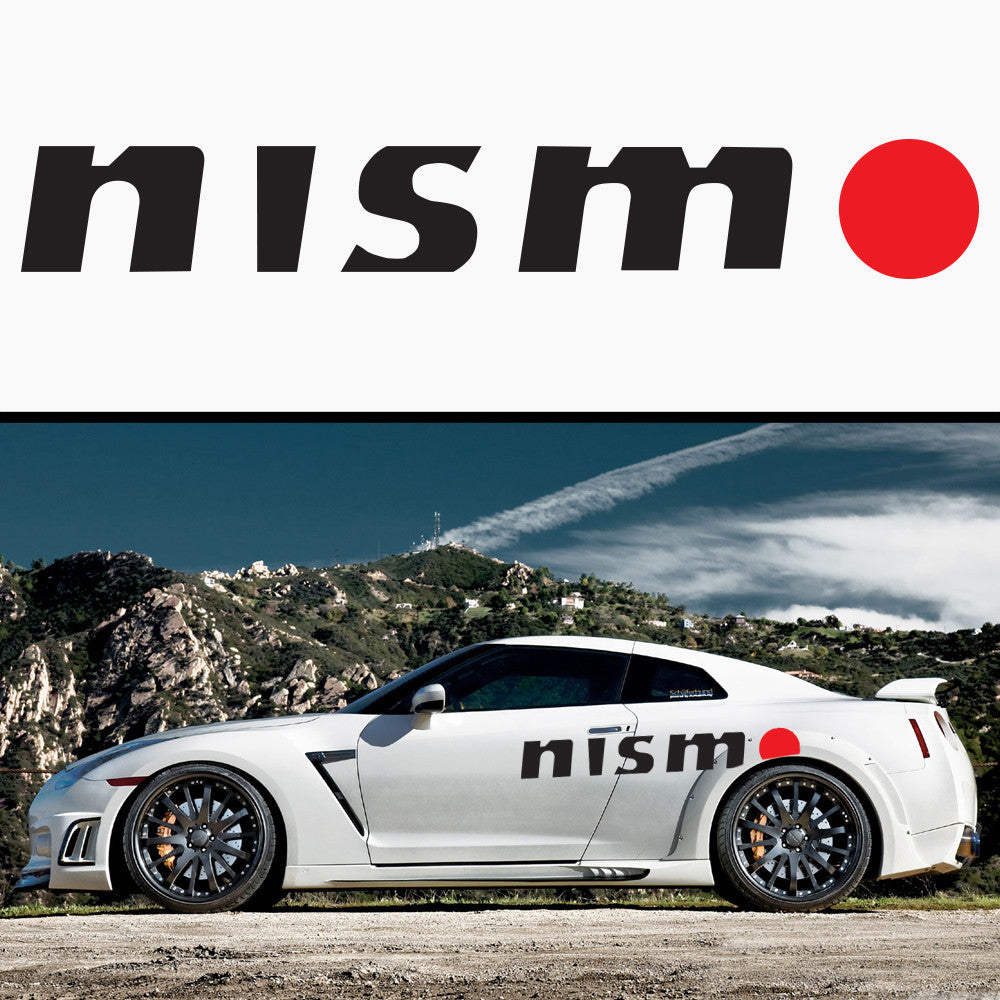 1x Nismo Side Body Vinyl Graphic