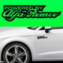 2x Powered By Alfa Romeo Body Part Decal