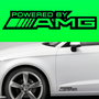 2x Powered By AMG Body Part Decal