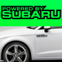 2x Powered By Subaru Body Part Decal