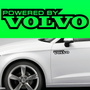 2x Powered By Volvo Body Part Decal