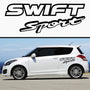 2x Swift Sport Rare Side Skirt Vinyl Decal