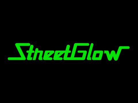 2x Street Glow Streetglow Vinyl Transfer Decal