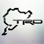 1x TRD Nurburgring Vinyl Transfer Decal