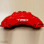 5x TRD Brake Caliper Vinyl Transfer Decals