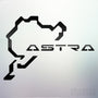 1x Astra Nurburgring Vinyl Transfer Decal