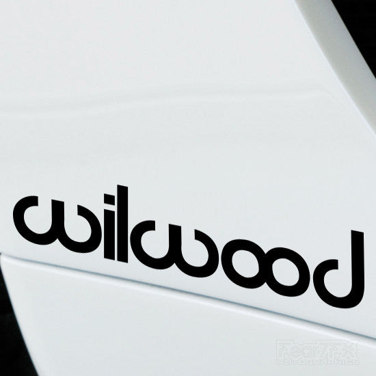 2x Wilwood Performance Tuning Vinyl Decal