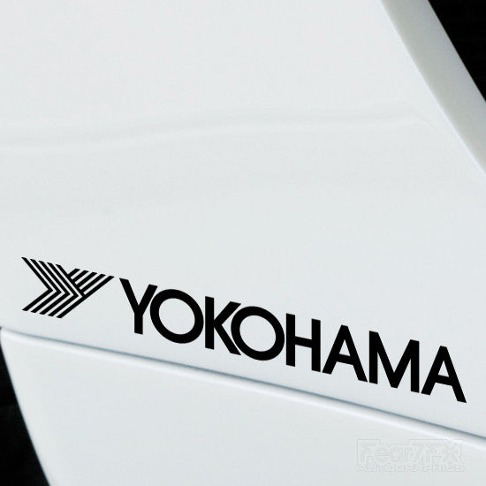 2x Yokohama Performance Tuning Vinyl Decal