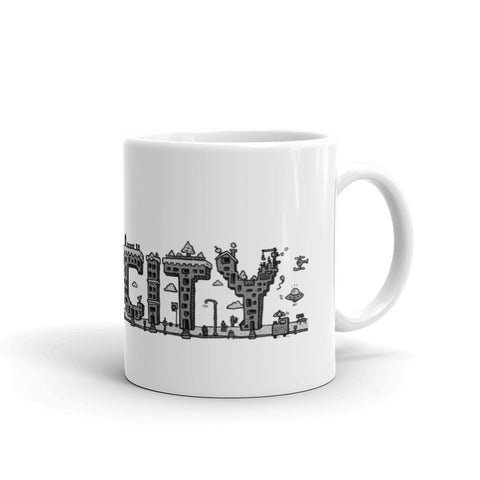 FUN CITY mug made in the USA