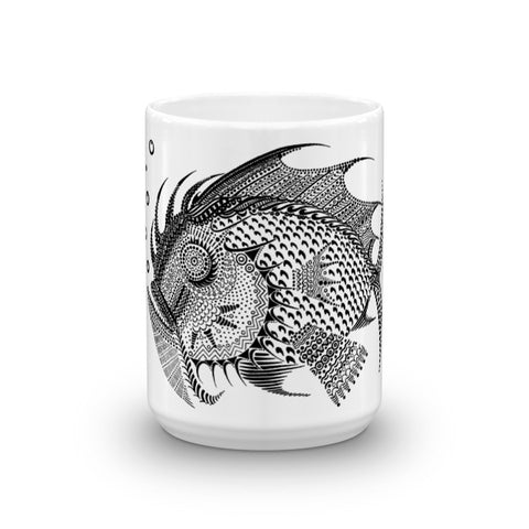 FISH Mug made in the USA