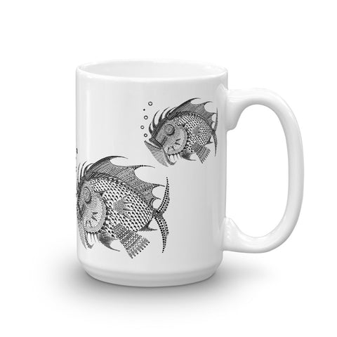 3 FISH Mug made in the USA