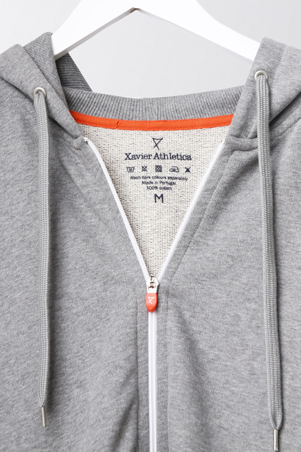 Cool-Down Hoodie - luxury cotton mens cool hoodie - grey
