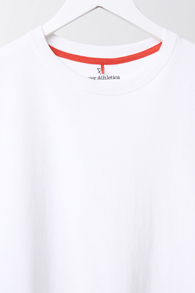 Tailor's Tee - luxury cotton mens t-shirt - white