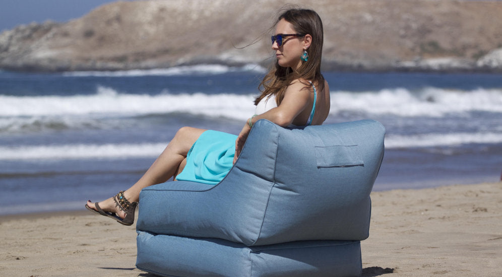 Conversion Lounger Blue Sky Eclipse