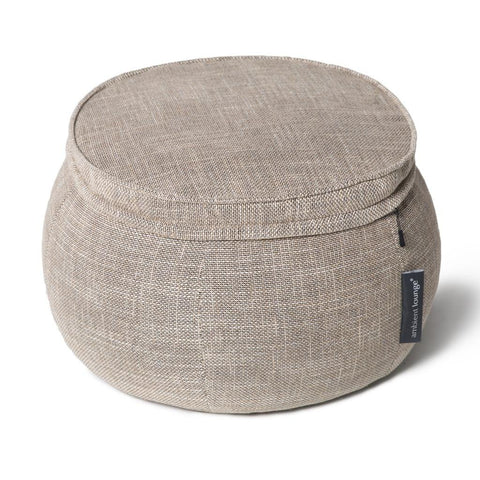 Wing Ottoman Eco Weave
