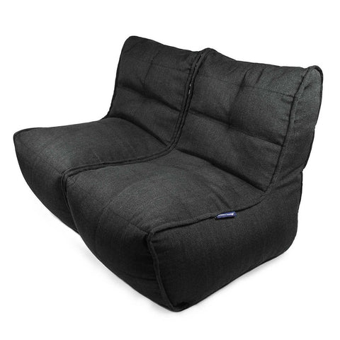 Twin Couch Black Sapphire