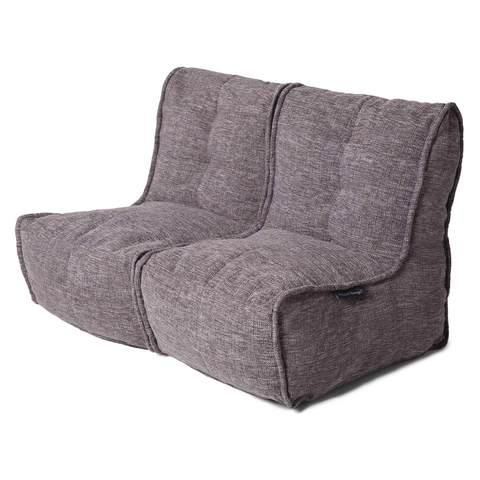 Twin Couch Luscious Grey