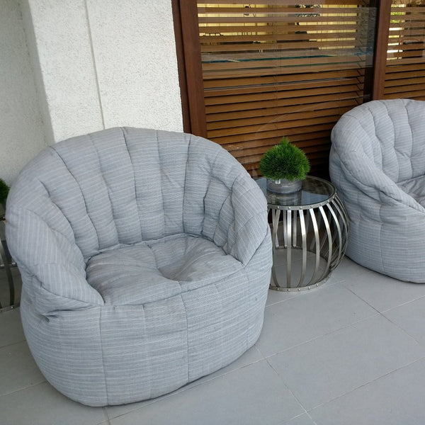 Butterfly Chaise - Silverline