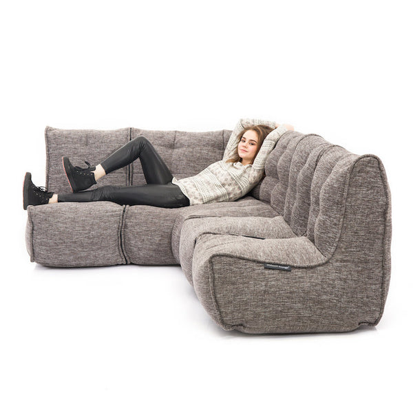 L Sofa - Luscious Grey